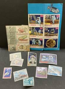 未使用 使用済み 外国切手 イエメン インドネシア カタール他 宇宙飛行図案など