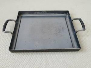 ◆キャンプ アウトドア バーベキュー 鉄板 鉄板焼き 44cm×44cm 5kg◆
