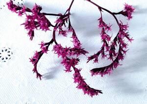 ●ドライフラワー タタリカ ピンク ハーバリウム ボタニカルキャンドル アロマワックスサシェ リース 少量 8●