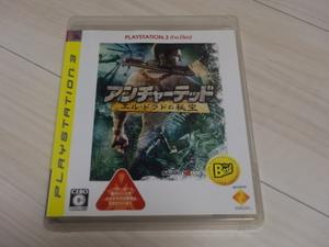 PS3  アンチャーテッド エル・ドラドの秘宝