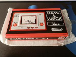 新品未使用 任天堂 Nintendo GAME&WATCH BALL ゲーム&ウォッチ ボール 復刻版