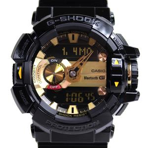 【MT2989】★CASIO カシオ G-MIX メンズ腕時計 GBA-400-1A9JF ★【中古】【美品】【質屋出品】