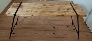 DIY テーブルレッグ アイアンレッグ キャンプ アウトドア