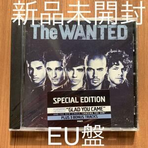 The WANTED ザ・ウォンテッド The EP EU盤 新品未開封