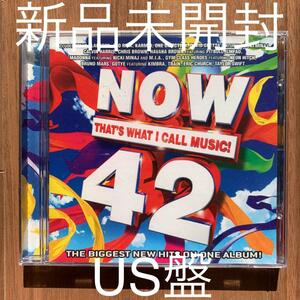 NOW THAT'S WHAT I CALL MUSIC 42 US盤 新品未開封