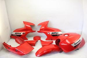 25174 ZRX1200S ZRT20A-0376** 外装セット サイドカウル タンク フロントフェンダー シートカウル サイドカバー