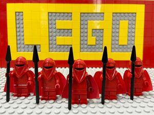 ☆スターウォーズ☆ レゴ ミニフィグ ロイヤルガード レッドガード ( LEGO 人形 トルーパー