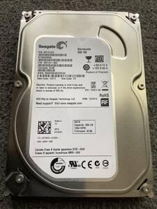 SEAGATE ST250DM000-1BD141 【使用時間24191時間】3.5インチHDD/250GB/7200rpm/SATA600