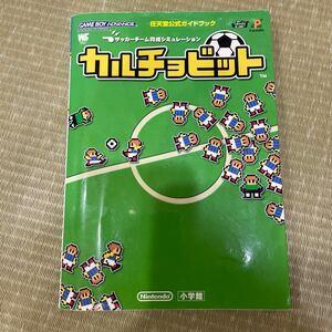カルチョビット/小学館 GAMEBOY ADVANCE 任天堂公式ガイドブック