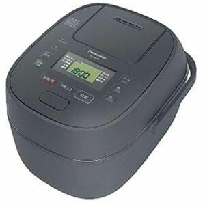 未使用★ パナソニック 炊飯器 グレー 5.5合 圧力IH SR-MPB100-H