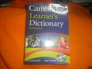 Cambridge Learner's Dictionary with CD-ROM. 4th ed.paperback 2012/7/5