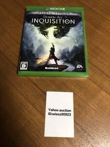 送料無料 XboxOne★ドラゴンエイジ インクイジション デラックスエディション★used☆Dragon age inquisition deluxe edition☆
