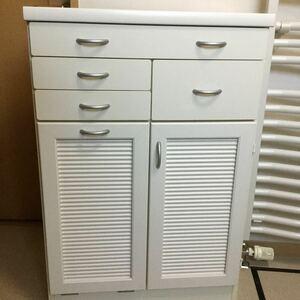 白 棚 ダストボックス ゴミ箱 収納 隙間収納