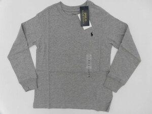 *[ new goods ] Ralph Lauren long sleeve T shirt Kids gray 120*