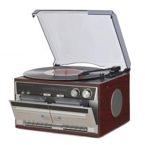 とうしょう Wカセットレコードプレーヤー TT-386W(l-4582442733082)