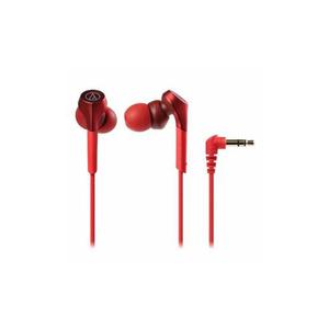 Audio-Technica ハイレゾ音源対応 ダイナミック密閉型インナーイヤーヘッドホン レッド ATH-CKS550X-RD(l-4961310144074)
