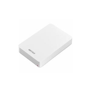 BUFFALO USB3.1(Gen1) ポータブルHDD 4TB ホワイト HD-PGF4.0U3-GWHA(l-4981254050293)