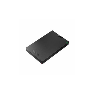 BUFFALO バッファロー ミニステーション USB3.1(Gen1)/USB3.0 ポータブルHDD 1TB ブラック HD-PCG1.0U3-BBA(l-4981254047644)