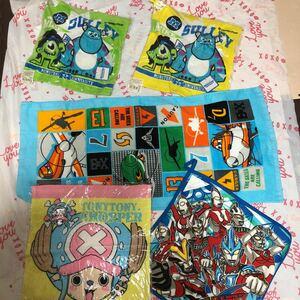 男の子 幼稚園 保育園 ループ付きタオル ディズニー ウルトラマン ハンドタオル ワンピース フェイスタオル プレーンズ福袋