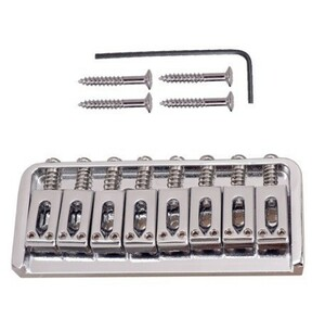 亜鉛合金 交換 エレキギター ブリッジ 8 平方 サドル 部品 文字列 長さ 93 ミリメートル 弦楽器