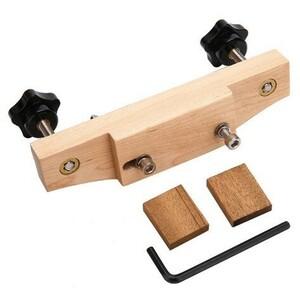 1 セット ソリッド ステンレス鋼 ギター ブリッジ インストール クランプ 弦楽器 ツール ギター パーツ アクセサリー