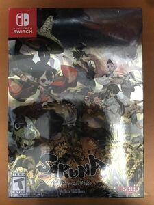 Nintendo Switch 天穗のサクナヒメ 海外限定版 Sakuna: Of Rice and Ruin - Devine Edition