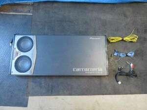 【即決/即日発送可】パレット SW CBA-MK21S Pioneer カロッツェリア [TS-WX1600A] 車載用パワード サブウーハー 200W 中古 7403