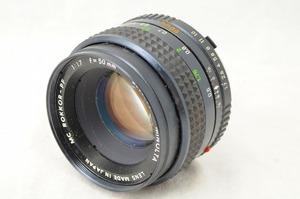 MINOLTA ミノルタ MC ROKKOR-PF 50mm F1.7/#2450