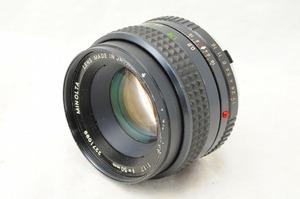 ★実用★MINOLTA ミノルタ MC ROKKOR-PF 50mm F1.7/#2449