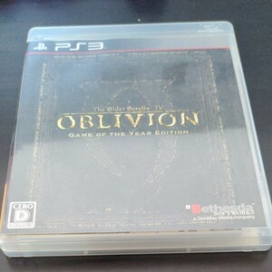 【PS3】 The Elder Scrolls IV:オブリビオン [Game of the Year Edition]