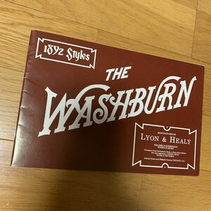 ..... балка ..WASHBURN Washburn .. гитара . распродажа . импорт каталог . van Joe . мандолина . кейс . сумка .1991 год производства . белый чёрный