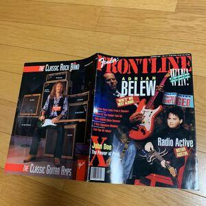 フェンダー USA 輸入カタログ エイドリアンブリュー ブライアンオースティン ブラッドウィットフォード エレキギター アンプ