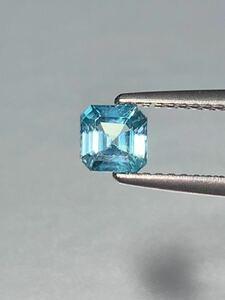 「激安宝石」ブルージルコンルース 0.72ct KS500-669