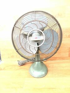 三菱 昭和レトロ 扇風機 アンティーク レトロ扇風機 MITSUBISHI ミツビシ Electric エレクトロファン
