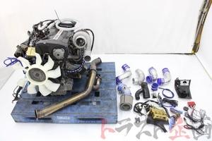 5270301 RB26 エンジンAssy GTW3884R タービン Vプロセット スカイライン GT-R BCNR33 前期 トラスト企画 送料無料