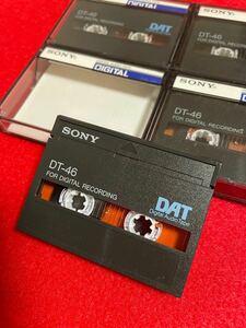 ソニー DATテープ 46分 × 4本 SONY DT-46