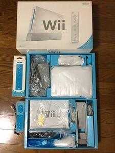 Nintendo Wii RVL-S-WAAGと青リモコン