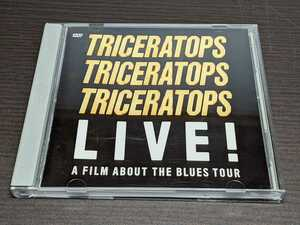 DVD トライセラトップス / TRICERATOPS LIVE! A FILM ABOUT THE BLUES TOUR / bl647