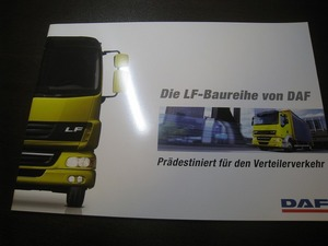 ★C4501 海外カタログ独語 DAF トラック LF 2011
