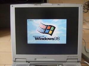 きれい 富士通 FMV-NEⅧ 23X Windows 98