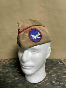アメリカ軍 アメリカ陸軍 グライダー オーバーシースキャップ 実物 再現品 中古品 アーミー 第二次世界大戦 WWII