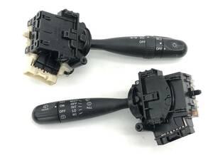 _b50486 ダイハツ ムーヴ ムーブ カスタム R CBA-L150S コンビネーションスイッチ レバー ライト ディマー ワイパー L152S L160S