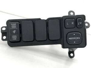 _b50486 ダイハツ ムーヴ ムーブ カスタム R CBA-L150S ドアミラー スイッチ ION イオン トリム 内装 カバー YK12 L152S L160S