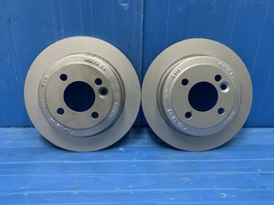 * RE16 MINI R53 Cooper S BMW grinding settled original rear disk rotor 2 sheets 1503070 B-0001