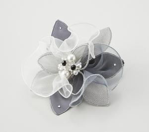 日本製 コサージュ 卒業式 入学式 入園式 結婚式 ブローチ お花 立体 フラワー パール ストーン ビーズ使い フォーマル 301-90