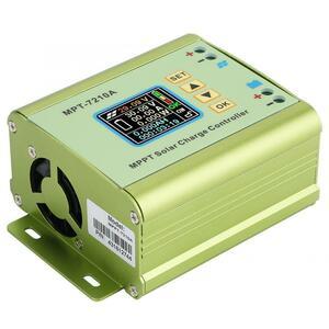 【送料無料】MPT-7210A 液晶 mppt ソーラーパネル充電コントローラアルミ合金