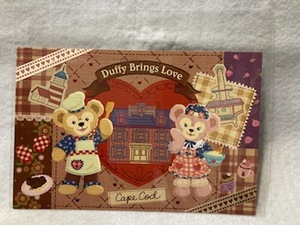 東京ディズニーシー スウィート・ダッフィー2014 ポストカード ダッフィー シェリーメイ 新品 未使用品