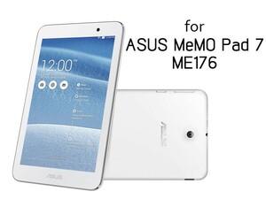 ASUS MEMO PAD 7 ME176 超薄 前面フィルム 液晶保護気泡軽減高光沢 シール