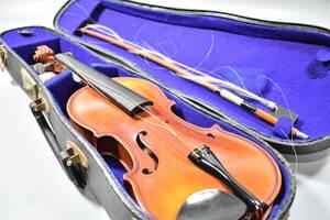 バイオリン / 鈴木バイオリン / サイズ1/8 / ケース付き / 弦楽器 / SUZUKI / 1969年 / No.103