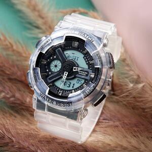 三田298グラムスタイルメンズ腕時計トップブランドの軍事スポーツ腕時計男性時計のショック防水クォーツ時計レロジオmasculino
